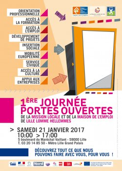 La maison de l emploi lille lomme hellemmes 1ere portes - Mission locale portes de provence ...
